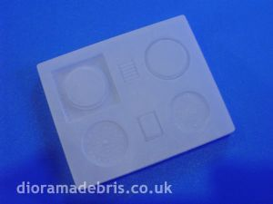 1:48 Scale Manholes and Drain Mould (1480080)